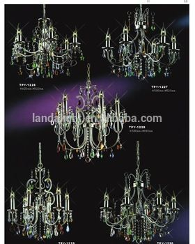 High Quality Alibaba Website Metal Crystal Chandeliers