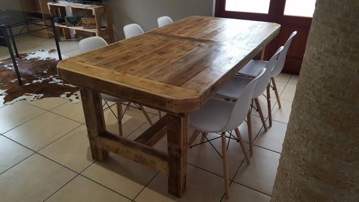 If you need something beautiful and exclusive in pallet furniture visit www.ccreations.co.za We create almost anything in your own size and design from a mix of recycled wood. For that unique look at home or your business mail us for a price list and visit our website and Facebook.