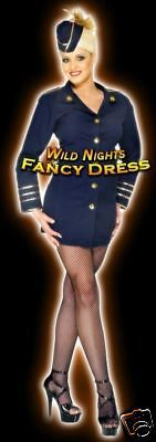 Fancy dress #costume # sexy #flight #attendant blue sm,  View more on the LINK: 	http://www.zeppy.io/product/gb/2/141916708292/