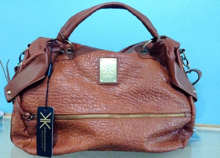 Kardashian Kollection Handbag in Chocolate, sold by La Moda Boutique $49.95