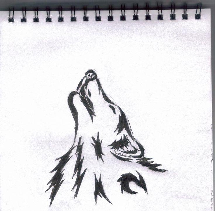tribal wolf tattoo design 1 by WolfCaz-Millure.deviantart.com on @deviantART