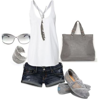Summer Breeze Outfit With Short Pans Ideas 23