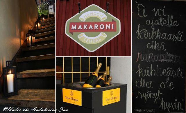 Hangon Makaronitehdas, a delightful pasta restaurant in Hanko, Finland