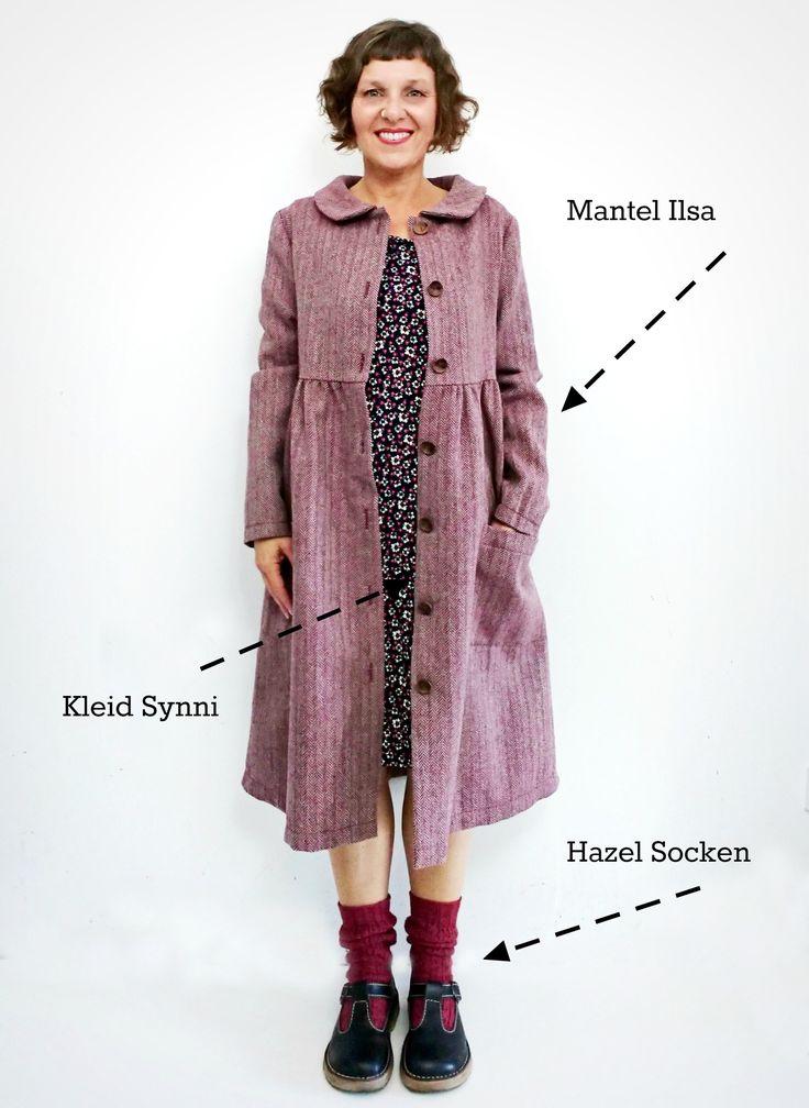 """Die rosa p. Capsule Wardrobe #3  Mantel ILSA und Kleid Synni aus dem Buch """" der … – rosa p."""