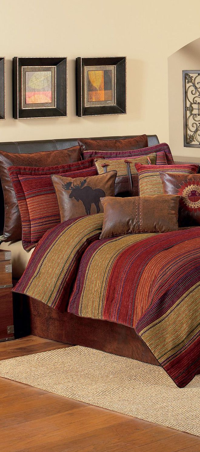 Best Croscill Plateau Cabin Bedding Cabin Bedding And Western 640 x 480