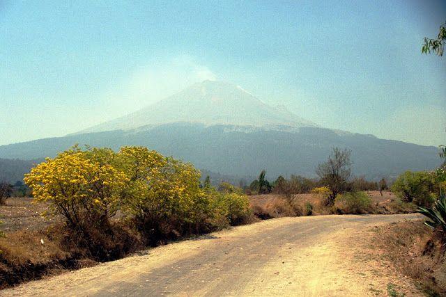 NINIVEMAIL: Mexico Popocatépetl - kouřová hora - sedlo Paso de...