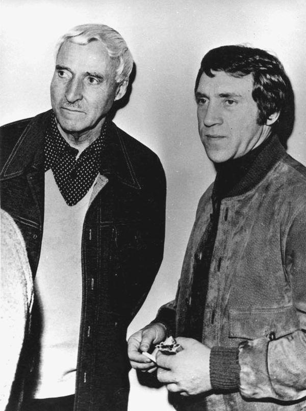 Владимир Высоцкий и Константин Симонов. Париж, 26.11.1977