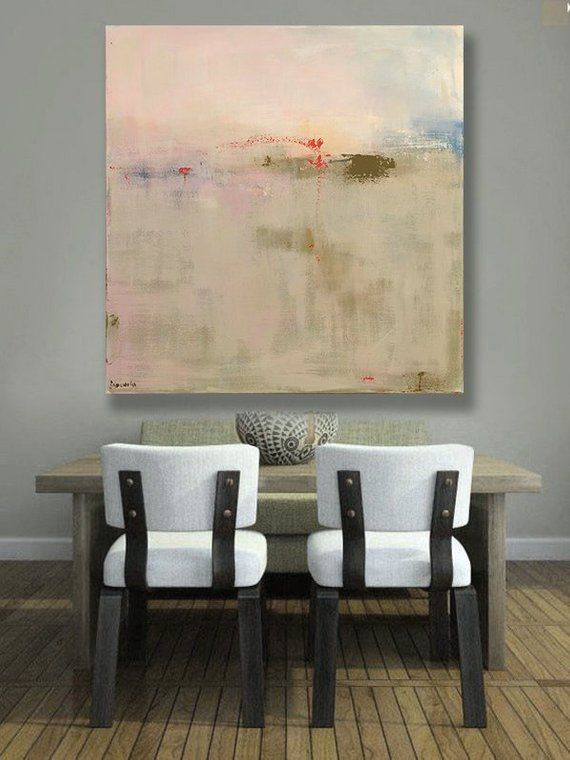 International Shipping Abstract Landscape Art Large Canvas Print