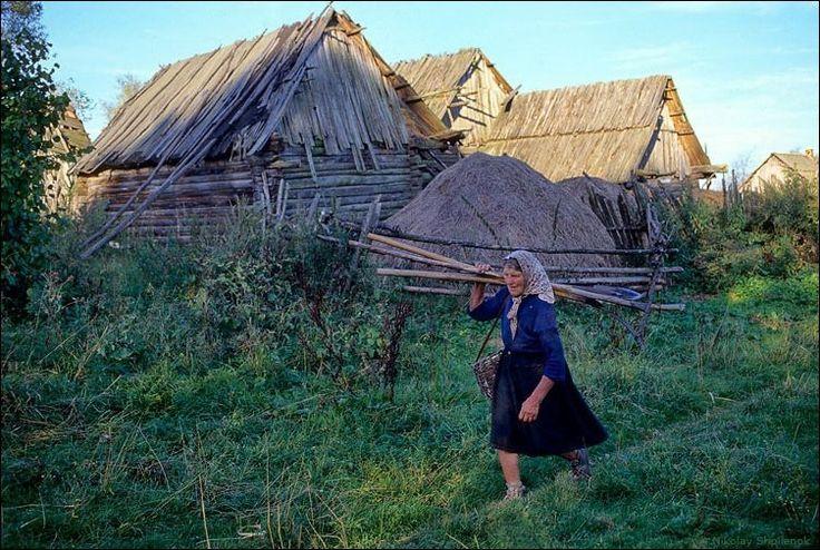 Деревня, в которой остановилось время (39 фото)