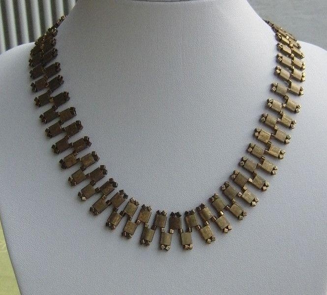 Perlen Schmucksets - Collier aus Tila Beads  - ein Designerstück von schmuckkreation-petra bei DaWanda