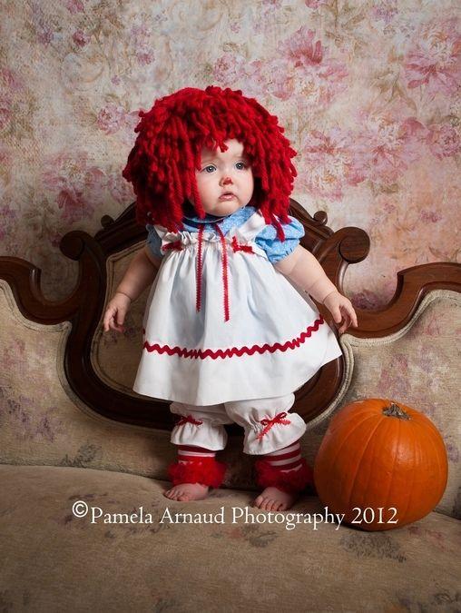 Raggedy Ann - 2013 Halloween Costume Contest via @costumeworks