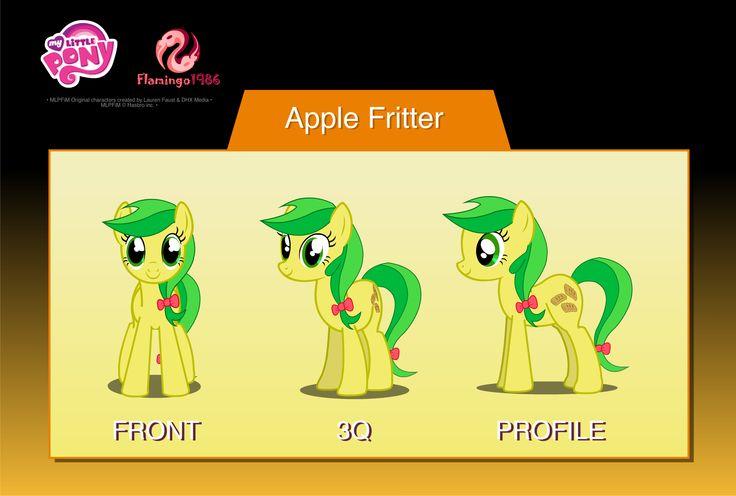 Výsledek obrázku pro mlp apple  fritter