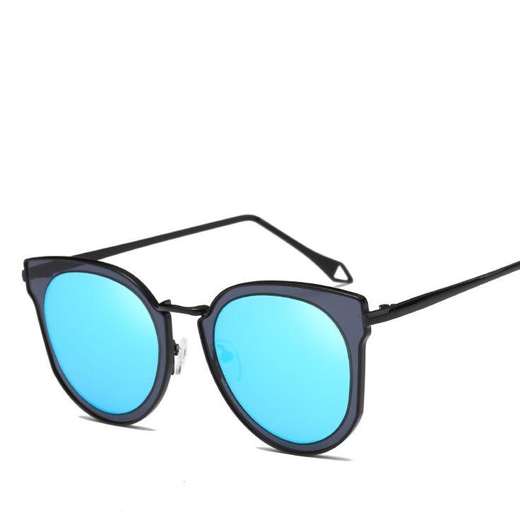 De Ojo de Gato de La CatEye Sunglasses Women Men Brand Designer New Fashion Sun Glasses For Women Female Sunglasses gafas de Sol #Affiliate