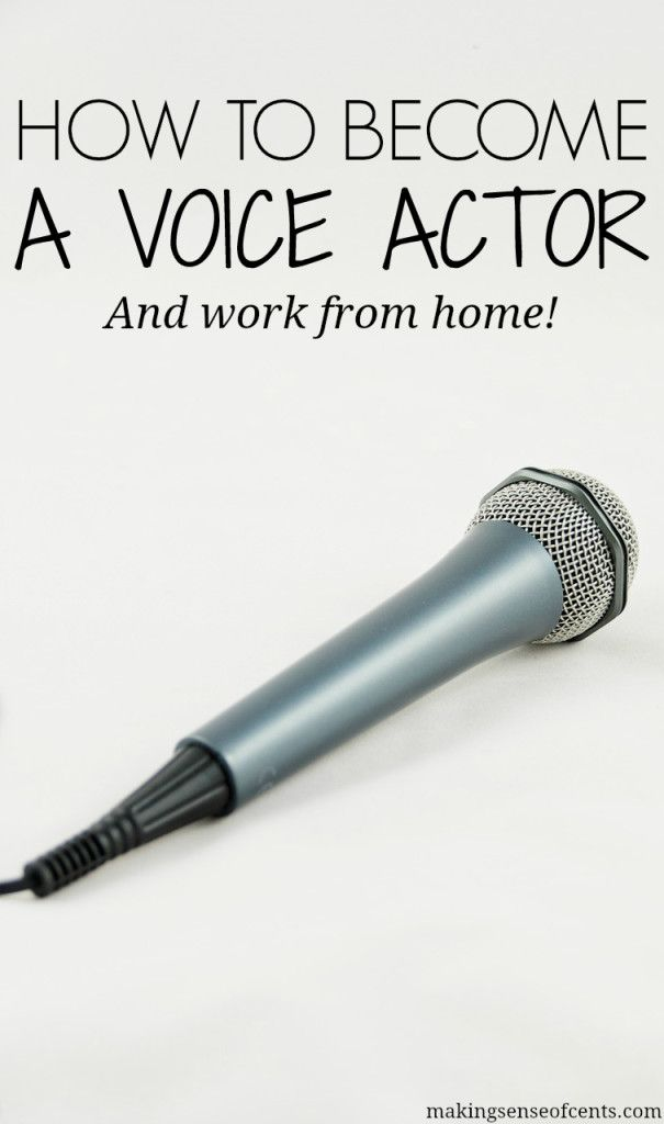 This interview will show you how to make money by becoming a voice over actor. Maybe voice acting will be your next career choice?