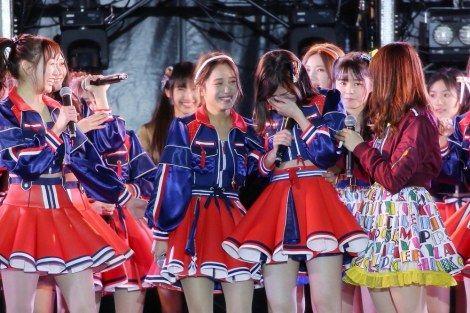 画像・写真|SKE48の10周年イヤー初ライブで松井珠理奈が涙 1枚目 / SKE48松井珠理奈、10周年イヤー初ライブで号泣「みんなで走っているんだなぁ」