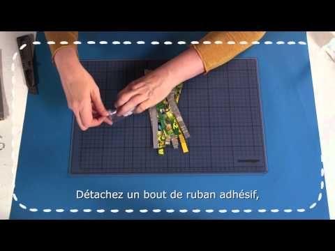 Scotch® Halskette basteln / bricoler un collier - YouTube