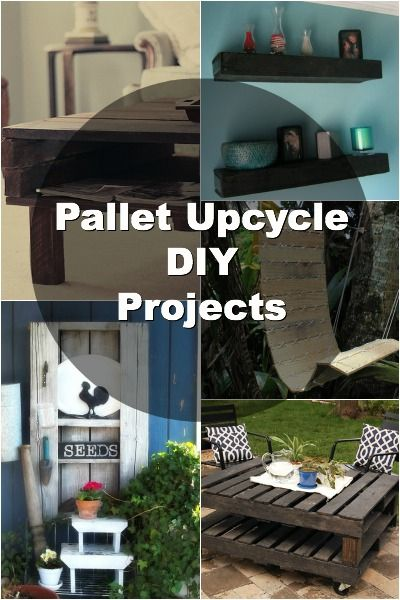 12 Awesome Upcycled Pallet DIY Projects