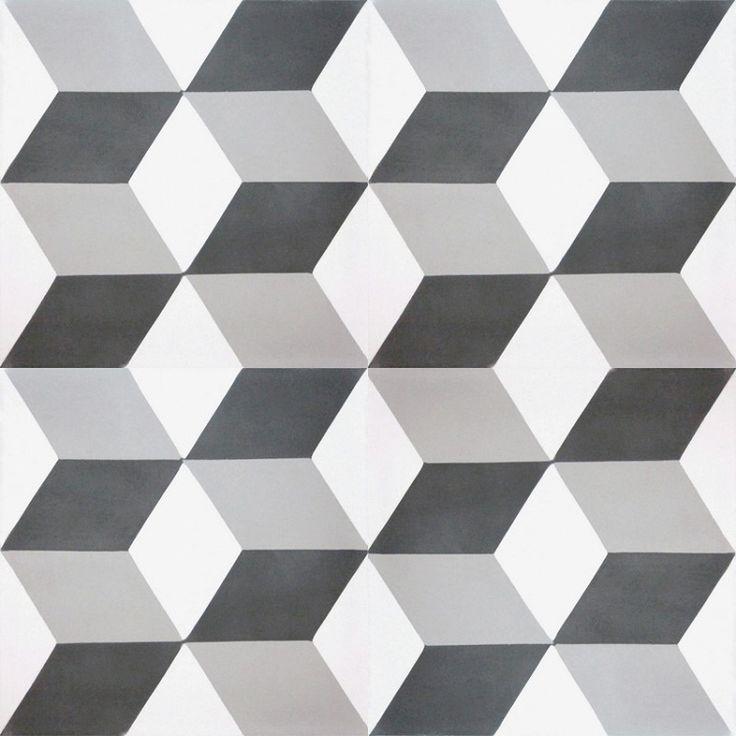 Cementowe płytki podłogowe - Breno