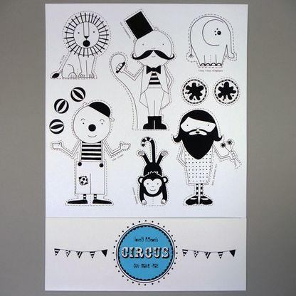 Cut Out Circus - The Curious Pancake