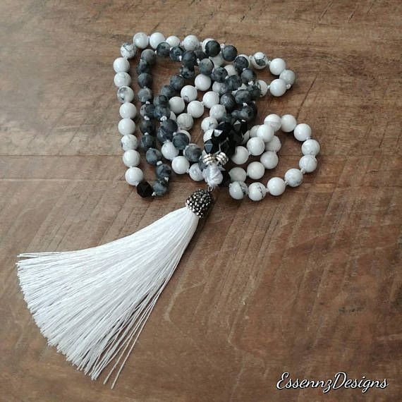 Check out this item in my Etsy shop https://www.etsy.com/ca/listing/569156618/mala-made-with-geometric-black-onyx