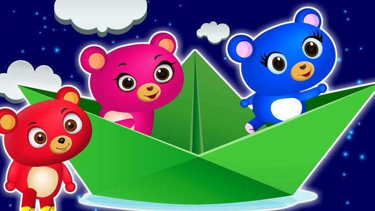 Cute Gummy bear Playing super mario game family Rhyme for Kids | Gummy b...