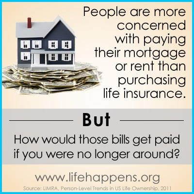 How would you pay your bills if you were no longer around #lifeinsurance