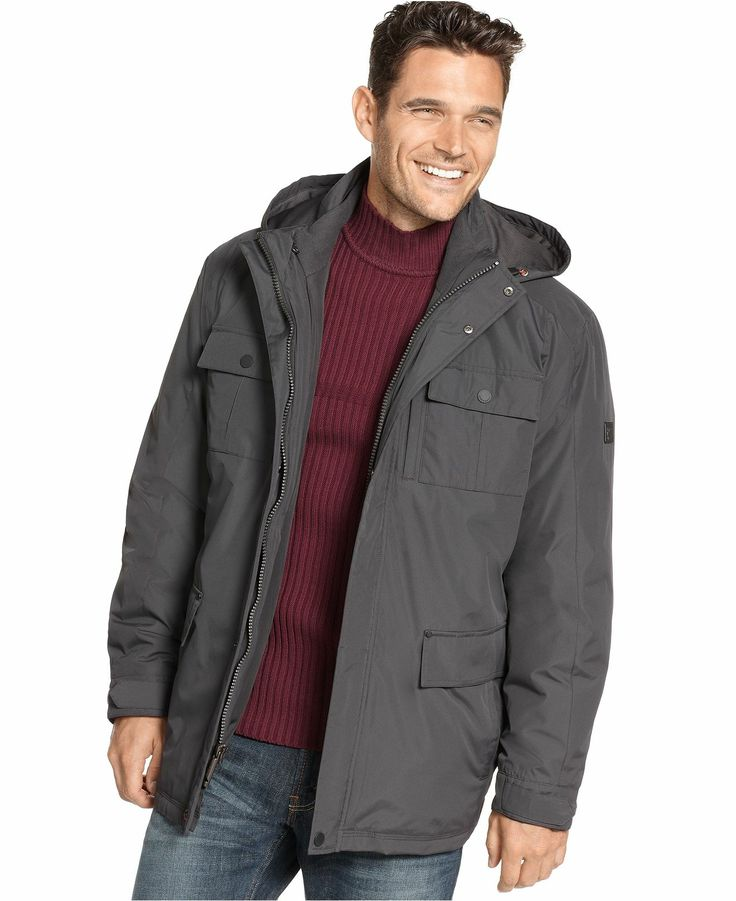 Hawke and Co. Outfitter Big and Tall Jacket, Kingston 3-in-1 Systems Jacket - Big & Tall Activewear - Men - Macy's