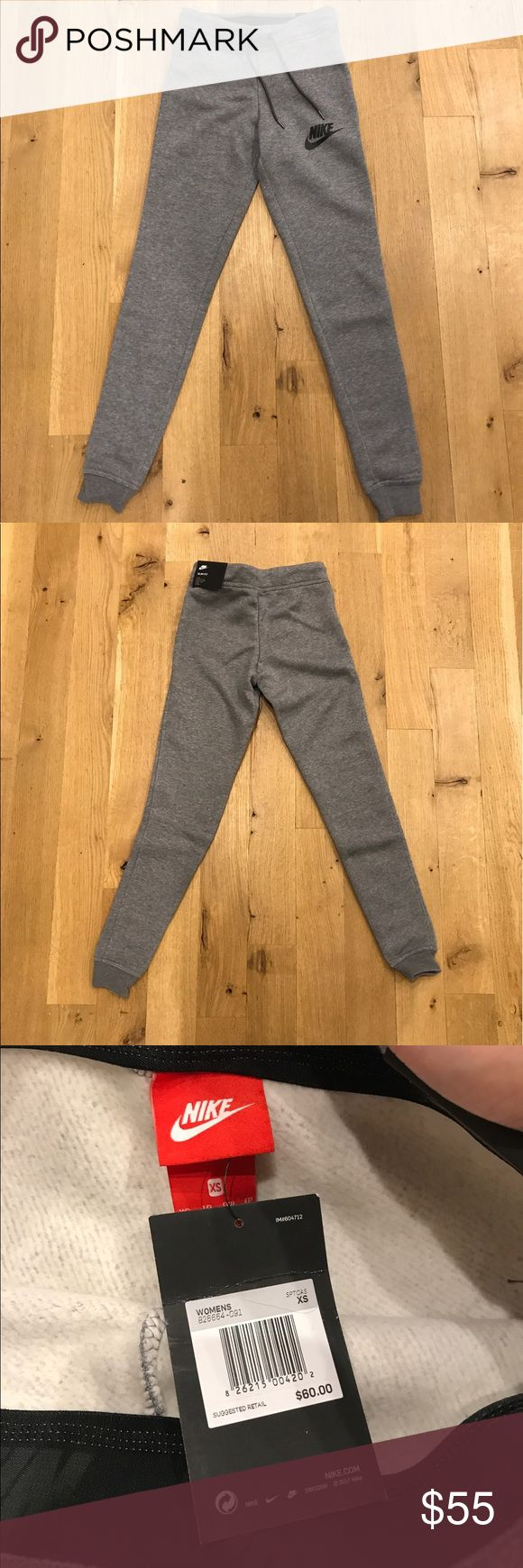 NIKE slim fit joggers in XS Sexy joggers by NIKE, BRaND NEW with tags. Slim fit size XS  Nike  Pants Track Pants & Joggers