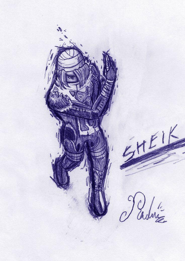 sheik. fast sketch