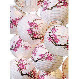 lampion cerisier japonais
