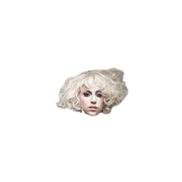 papaer doll lady gag head by Andysi ❤ liked on Polyvore featuring heads, doll parts, dolls, lady gaga and paper doll