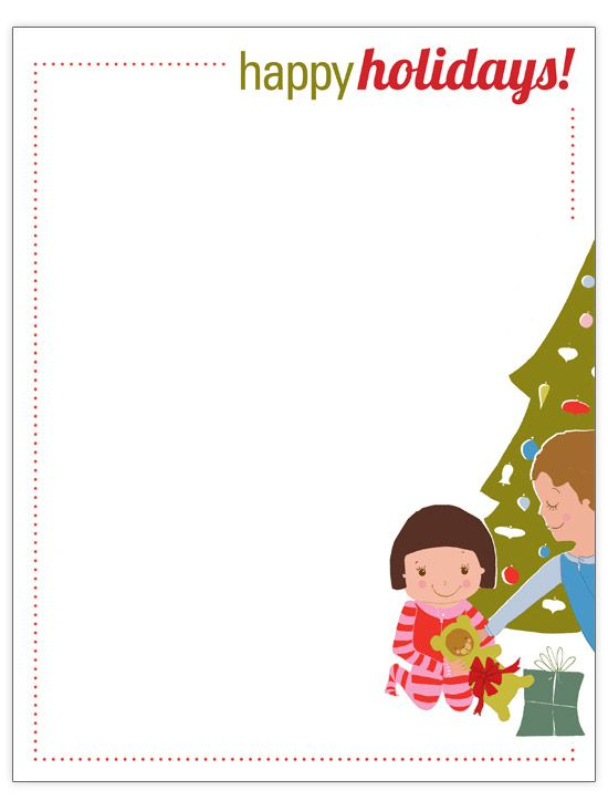 64 best Christmas free clip art images on Pinterest Xmas - christmas letter template free