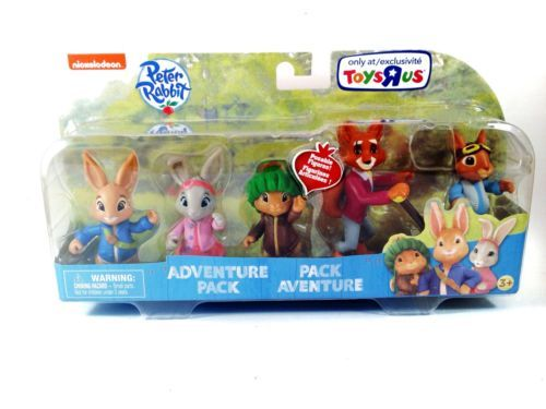 PETER-RABBIT-TV-Show-5-Mini-Figure-ADVENTURE-PACK-Lily ...