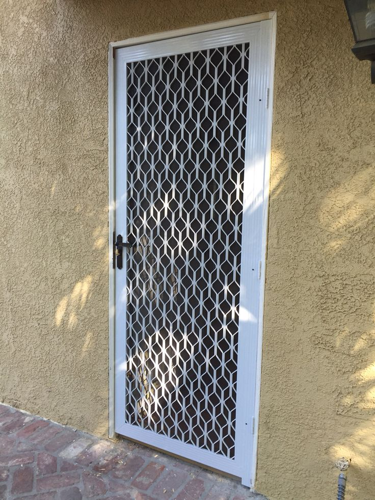 17 best images about security screen doors on pinterest for Security window screens
