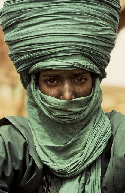 Tuaregs, nomads live in the semi-arid Sahel and arid Sahara in an area of Mali, Niger Zippertravel.com Digital Edition