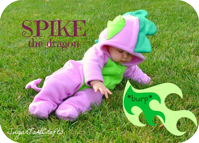Spike the Dragon Costume