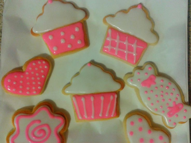 cupcakes, corazones y candy cookies