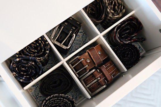 KoloDIY Decor: Апгрейд ящика для белья и ремней своими руками