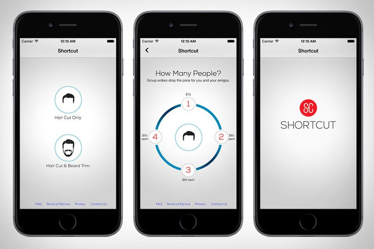 Shortcut - In a jam and don't have time to go get your hair cut? Have the barber come to you with Shortcut. This handy app connects you directly to a stylist who can come to your home, office, or hotel room on-demand to dish out fresh cuts and beard trims for you and up to three friends — the more people getting cut, the lower the per-cut price. And don't worry about running to an ATM: all Shortcut barbers carry Square readers with them, so you can pay up just as easily as you ordered.