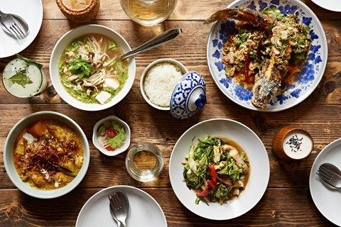 2016 SOM SAA  best Thai food in London, in Spitalfiellds. Where to eat in London right now. This week: star-quality sharing plates in an underground Mayfair madhouse