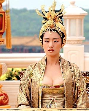 Gong Li as the Phoenix Empress