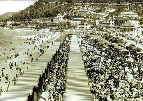 Muizenberg circa 1946. | Flickr – Compartilhamento de fotos!
