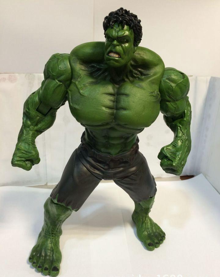 Мстители невероятный Халк Железный Человек Красный Халк Buster СВЧ Age Of Ultron 26 СМ ПВХ Игрушки Действие Рис Халк Smash