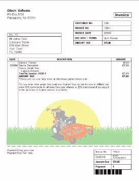 Best Ideas For The House Images On Pinterest Lawn Business - Lawn care invoice examples