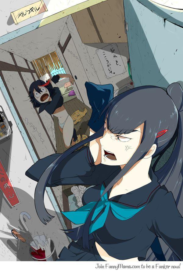 If the sibling were to live together Kill la Kill satsuki ...