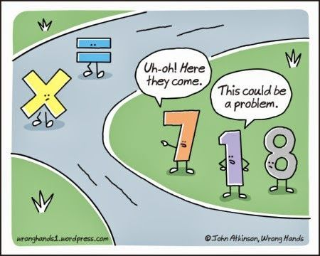 Math Humor | Math Problem | Created by John Atkinson | | Via Funny Technology - Google+