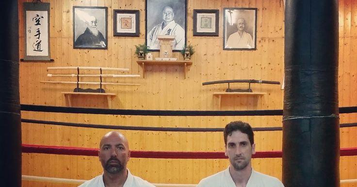 David (sensei) y Rafael (kôhai) - Budokan Sevilla Dôjô    En las artes marciales, que es lo que nos atañe, los conceptos de Sempai y Kôhai...