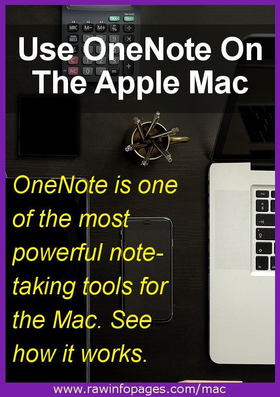 OneNote offers more features than Apple Notes for those that need