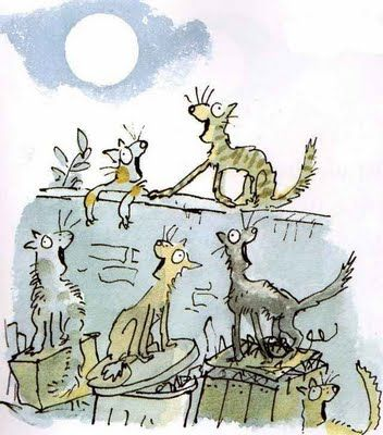 """All Join In"" - Illustration by Quentin Blake"
