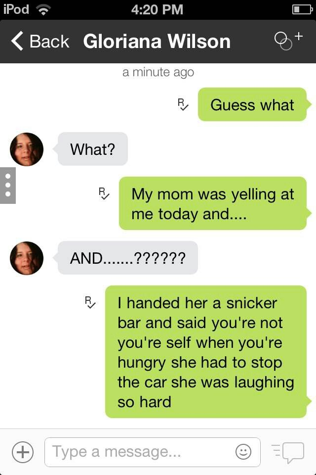 Lol texts funny | It makes me laugh! (; | Pinterest Funny Text Messages From Parents